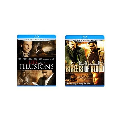Lies and Illusions/Streets of Blood Blu-Ray - 2 Pack