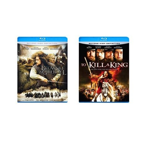 Beowulf & Grendel/To Kill a King Blu-Ray - 2 pack