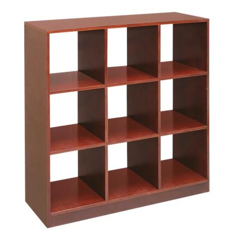Badger Basket 9-Cube Storage Unit - Cherry