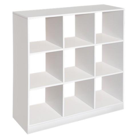 Badger Basket 9-Cube Storage Unit -  White