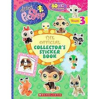 The Official Collector's Sticker Book (Volume 3) (Paperback)