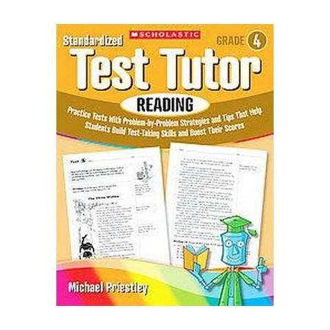 Standardized Test Tutor, Reading Grade 4 (Paperback)