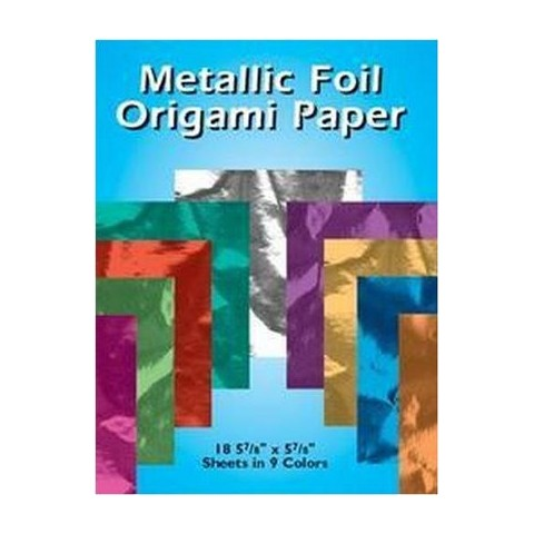 Metallic Foil Origami Paper (Paperback)