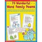 70 Wonderful Word Family Poems Grades Pr (Paperback)