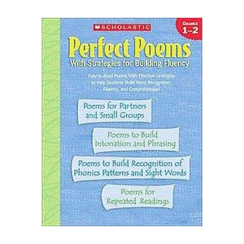 Perfect Poems With Strategies for Building Fluency (Paperback)