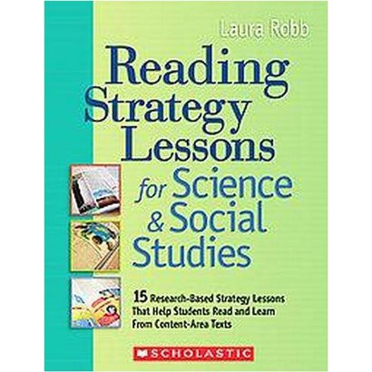 Reading Strategy Lessons for Science & Social Studies (Paperback)