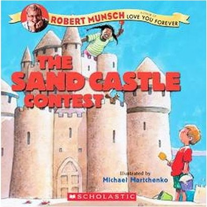The Sandcastle Contest (Paperback)