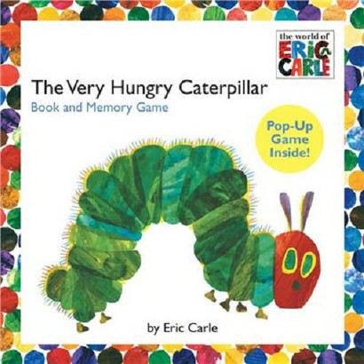The Very Hungry Caterpillar Book and Memory Game (Hardcover)