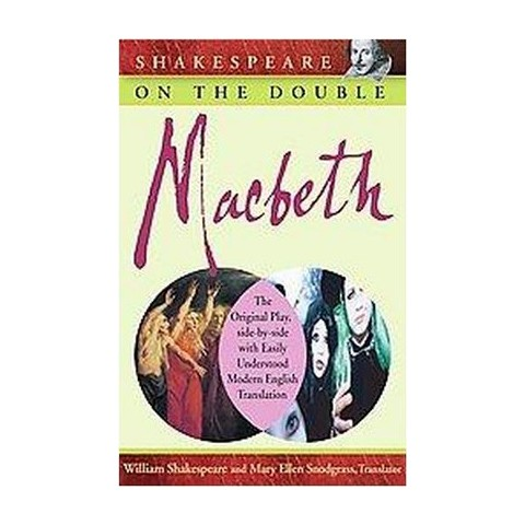 Shakespeare on the Double! Macbeth (Paperback)