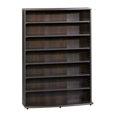 "Multimedia Storage Tower Cinnamon Cherry 46"" - Sauder"