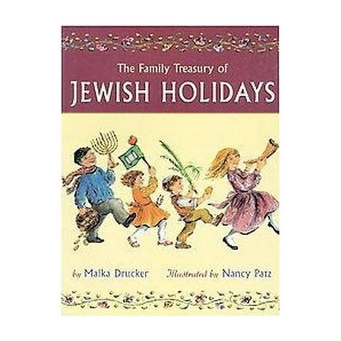 The Family Treasury of Jewish Holidays (Gift) (Paperback)