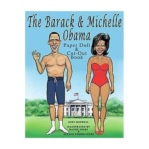 The Barack & Michelle Obama Paper Doll & Cut-out Book (Paperback)
