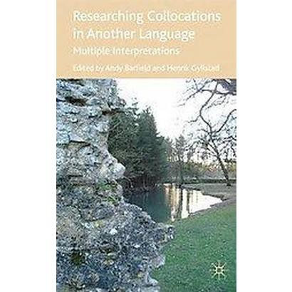 Researching Collocations in Another Language (Hardcover)