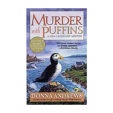 Murder With Puffins (Reprint) (Paperback)