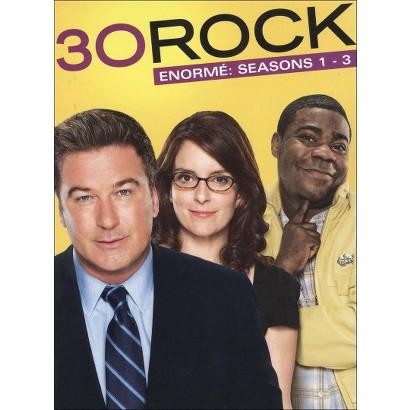 30 Rock: Enorme - Seasons 1-3 (8 Discs)