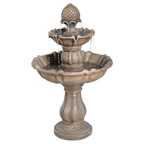 Patella Distressed Finish Fountain