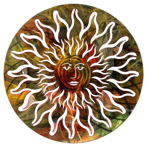 3DWall Art Sun Face - Multicolor