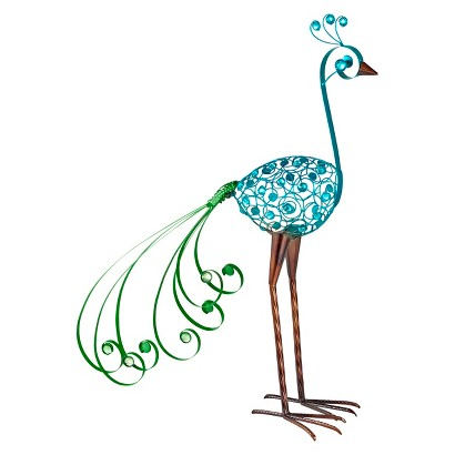 Garden Place Mosaic Peacock