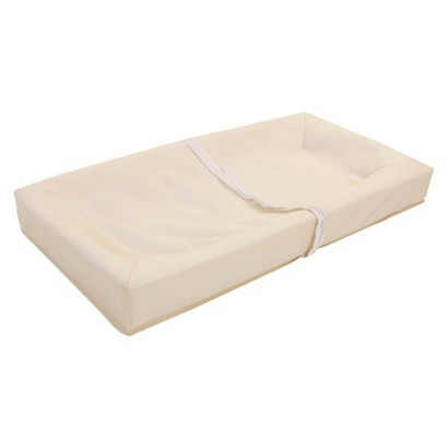 "L.A. Baby Jacquard cover 4 Sided Changing Pad- 32"" Long"