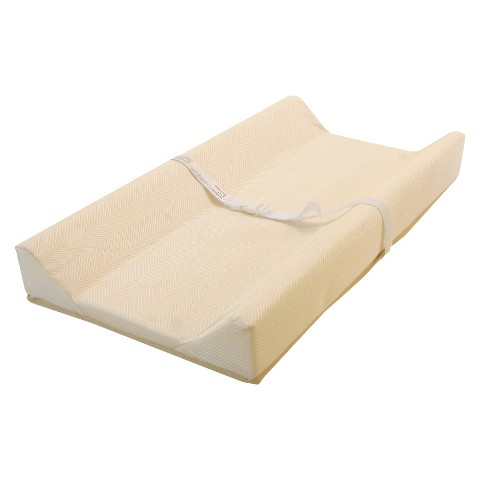 "L.A.Baby Jacquard cover Contoured Changing Pad 32"" Long"
