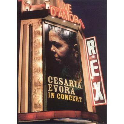 Cesaria Evora: Live d'Amor