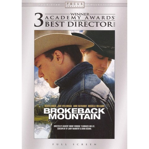 Brokeback Mountain (S) (Fullscreen)