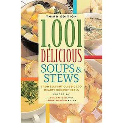 1,001 Delicious Soups and Stews (Paperback)