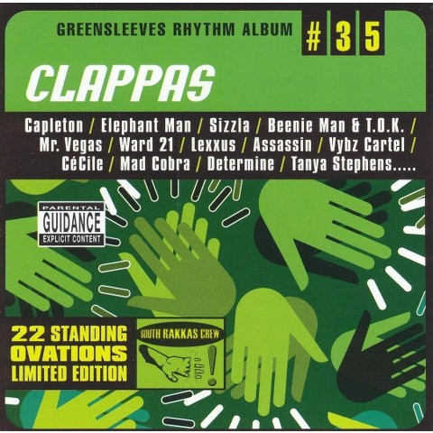 Greensleeves Rhythm Album #35: Clappas [Explicit Lyrics]