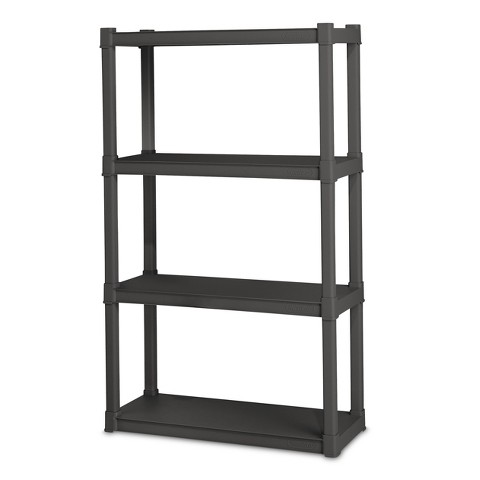 Sterilite® 4-Shelf Storage Unit - Flat Gray