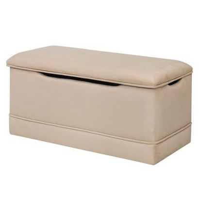 Deluxe Toy Box - Beige