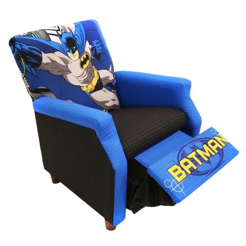 Komfy Kings Kids Recliner - Batman