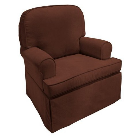 Komfy Kings Willow Swivel Glider Tar