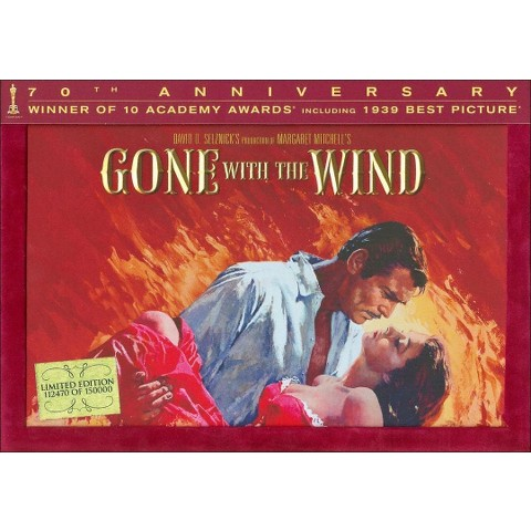 Gone with the Wind (70th Anniversary Ultimate Collector's Edition) (With Book) (5 Discs)