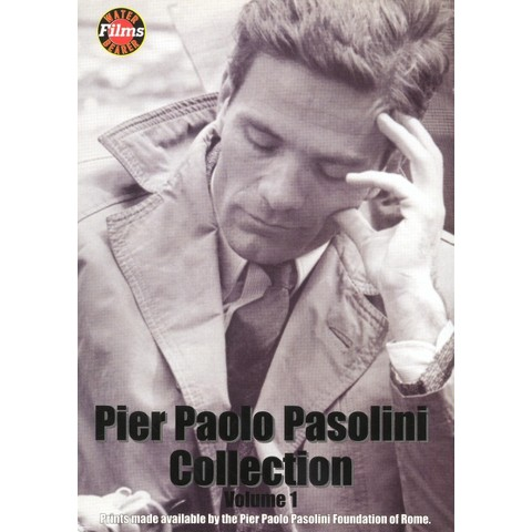 Pier Paolo Pasolini Collection, Vol. 1 [3 Discs]