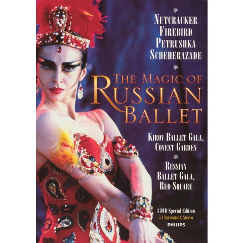 The Magic of Russian Ballet (3 Discs)