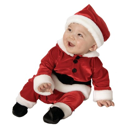 Infant/Toddler Velvet Santa Costume