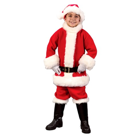 Boy's Santa Suit Costume