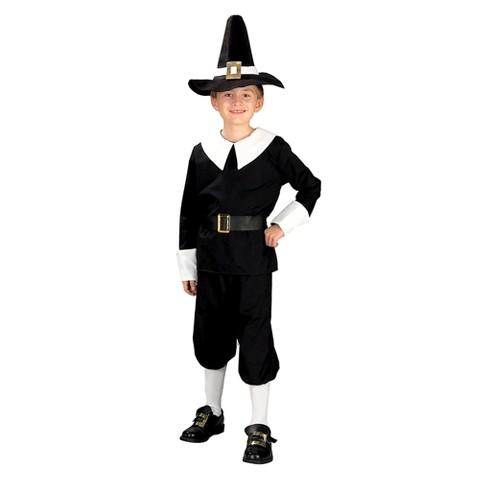 Boy's Pilgrim Boy Costume