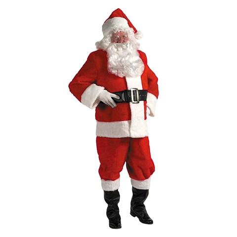 Men's Kris Kringle Suit Costume - 3XL