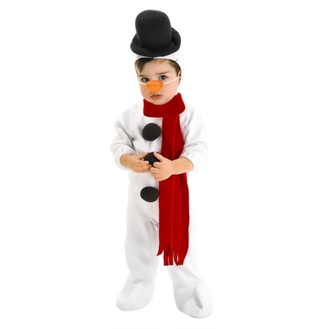 Infant/Toddler Snowman Costume