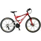 "Schwinn Mens Protocol 26"" Mountain Bike - Red"