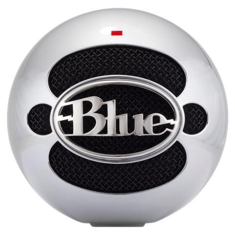Blue Microphones Snowball USB Condenser Microphone - Brushed Aluminium