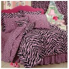 Zebra Print Bedding Collection - Pink/Bla...