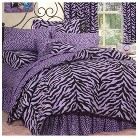 Zebra Print Bedding Collection - Lavender&#47...