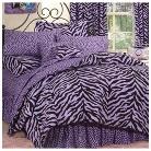 Zebra Print Bedding Collection - Lavender&#47...