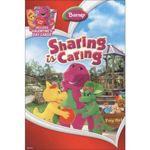Barney: Sharing Is Caring (With 3 Valentine's Day Cards)