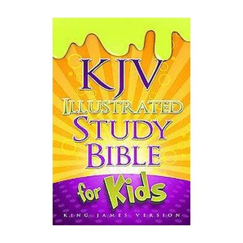 KJV Illustrated Study Bible for Kids (Hardcover)