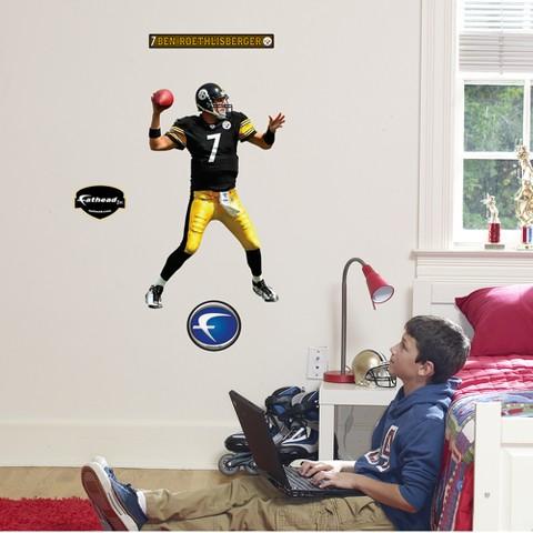 Pittsburgh Steelers Ben Roethlisberger Junior Wall Décor