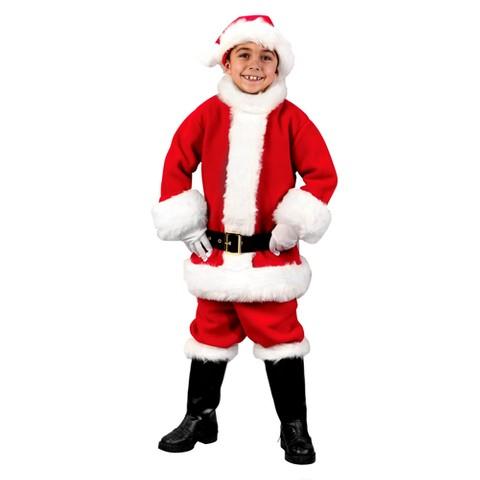 Boys' Santa Suit Costume
