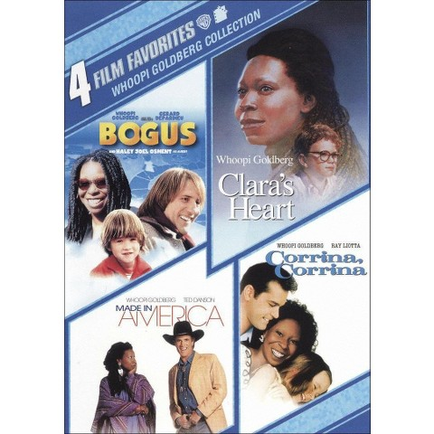 Whoopi Goldberg Collection: 4 Film Favorites (2 Discs) (Widescreen)